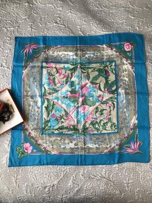 Hermès Doek lichtblauw-roze