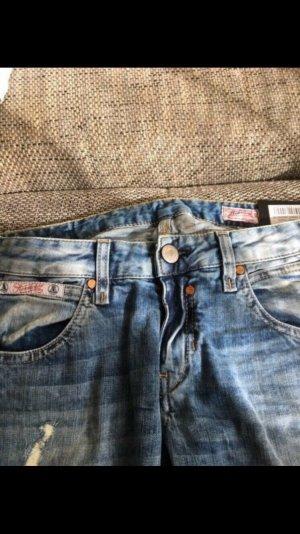 Herrlicher Jeans cigarette bleuet