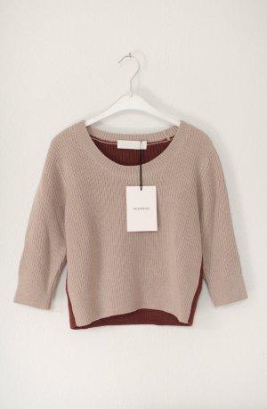 Original Hesperios Pullover Knitwear Neu mit Etikett Strick Alpaca Cropped