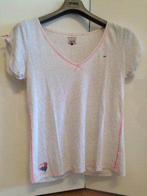 Original Hilfiger Denim Shirt Größe M weiß /neon