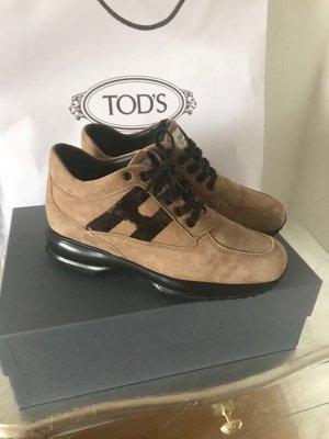 Original HOGAN BY TODS Sneaker Schuhe Turnschuhe Wildleder beige 35,5/36