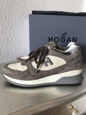 Original HOGAN Tods Sneaker taupe grau wNeu NP 380€ Gr.36 (37)