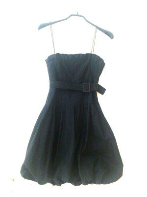 Hugo Boss vestido de globo negro Nailon