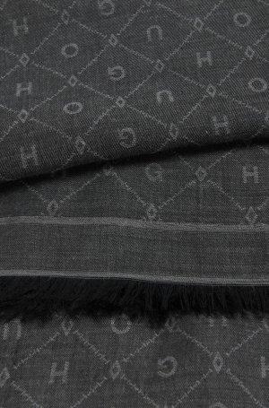 Original HUGO Boss / Jacquard-Schal mit Ton in Ton gehaltenem Logo-Muster