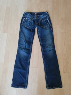original Hugo Boss Jeans W 27 L 33 wie neu straight leg blau used