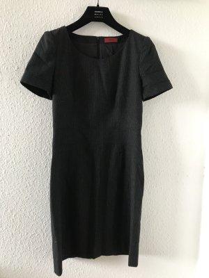 Original HUGO Boss Kleid Etuikleid Business grau Wolle Gr.36 S NP299€
