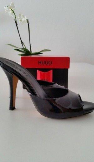 Hugo Boss Clog Sandals black