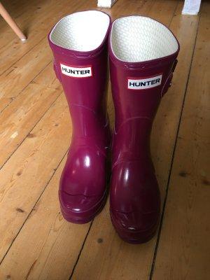 Hunter Snow Boots purple