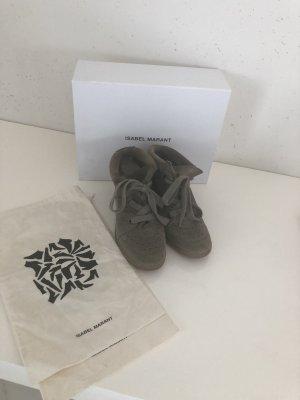 Original Isabel Marant Bobby Sneaker Gr 37 khaki