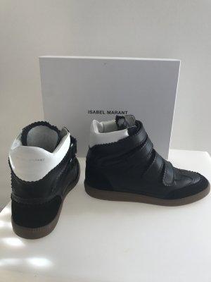 Original ISABEL MARANT Designer Sneakers mit Absatz dG 38