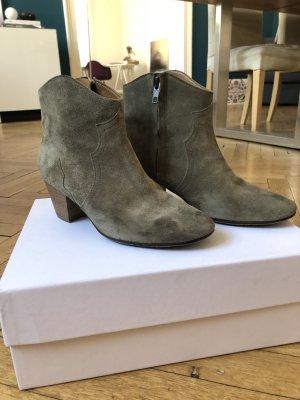 Isabel Marant Étoile Santiag gris brun