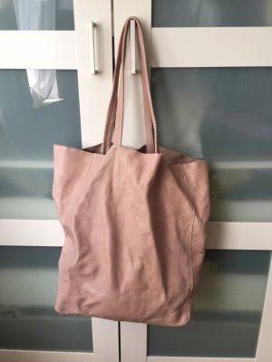 Shoulder Bag pink leather
