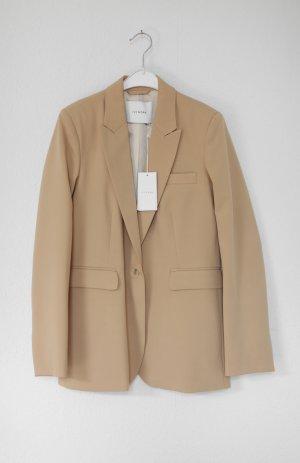 Original Ivy & Oak Blazer in Camel Nude Sustainable Tailored Neu mit Etikett Sustainable