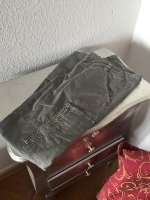 Original J Brand Hose Röhre HOULIHAN 26 skinny oliv grün 300€ Jeans Jades