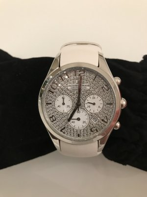 Jacques Lemans Watch white-silver-colored