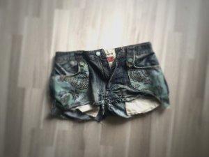 ORIGINAL +++++ Jeans Short Hose + dsquared2 Hot Pants