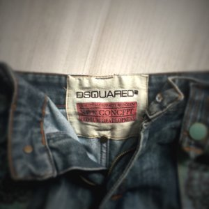 ORIGINAL +++++ Jeans Short Hose ++ only replay dsquared2 Hot Pants