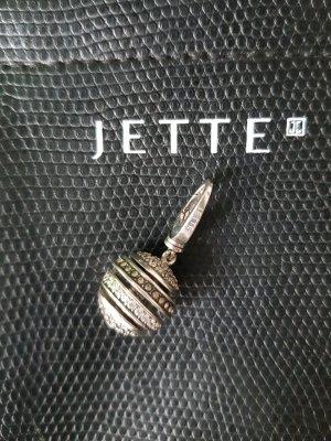 Original Jette Joop Kugel Anhänger Charms Globe 925er Sterling Silber