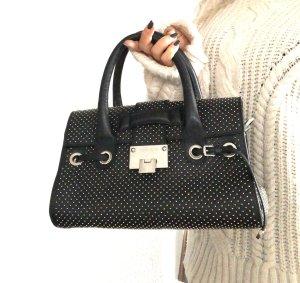 Original Jimmy Choo Luxus Handtasche Rosalie schwarz mit Nieten
