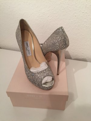 Original Jimmy Choo Peeptoes neu