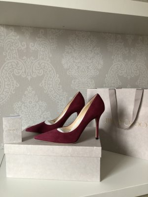 Original Jimmy Choo Veloursleder Schuhe