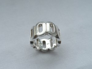 Joop! Silver Ring silver-colored real silver