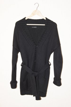 Joop! Cardigan all'uncinetto nero Lana