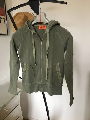 Original Juicy Couture Jacke Hoodie Jacke khaki S 36 Sweater