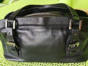 Original Just Cavalli Damen Tasche. Leder. Schwarz. (26x10x10). Gebraucht.