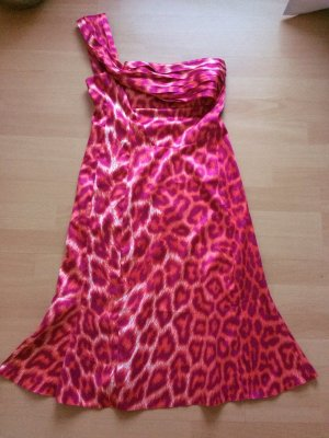 Original Just Cavalli Kleid 36 IT 42 Pink Leopard Leo Hochzeit