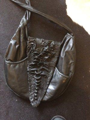 Original Karin Scholz Atelier handgefertigte Tasche Echtleder top Zustand