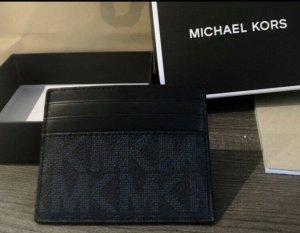 Michael Kors Kaartetui zwart-donkerblauw