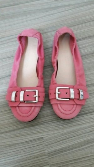 original Kennel & Schmenger Ballerinas Slipper rosa 37 wie neu