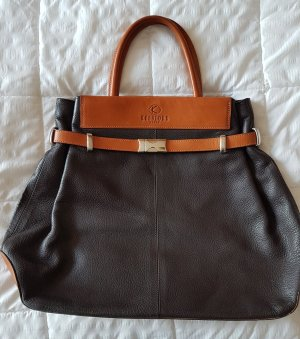 Kesslord Bag black brown-dark brown leather