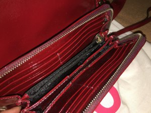 Original Lackleder Damentasche von Abro mit Portmonee