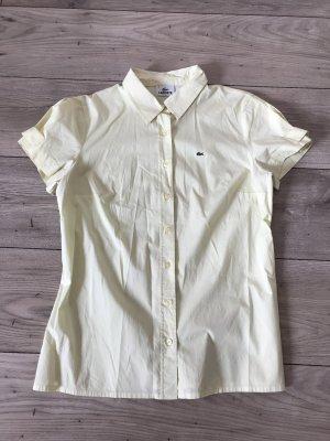 Original Lacoste Bluse Pastell gelb