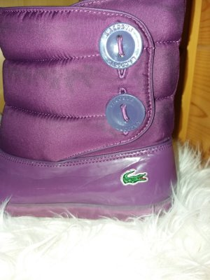 Lacoste Bottes de neige violet