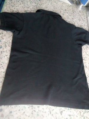 Lacoste Polo shirt zwart-grijs Katoen