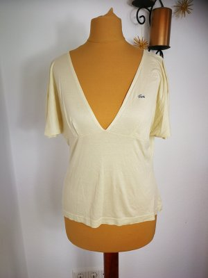 Original Lacoste Shirt in Creme