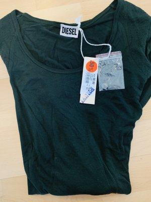 Original Langarm Shirt / leichter Pullover v DIESEL Denim Gr. XS