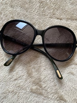 Lanvin Ronde zonnebril zwart