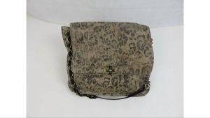 Original Lanvin Tasche Large Groß Leopard Leo Schultertasche NP 1500