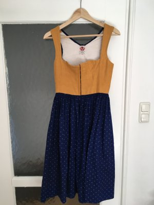 Original-Lanz Dirndl yellow-blue