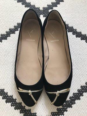 lazzarini Ballerinas black