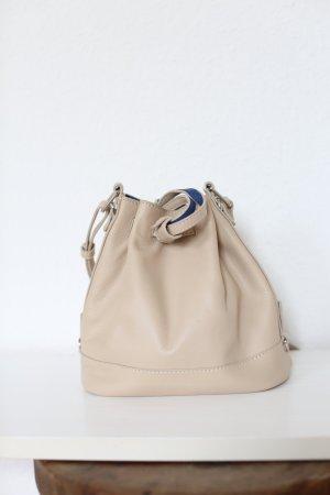 Original Le Tanneur Tasche Bucket Bag Small Rosa Vintage Look Nude