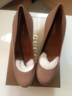 Original Leder Gucci Pumps