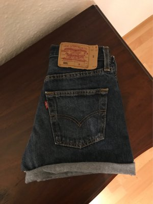 Original Levi's 501 Hotpants Jeans Shorts XS