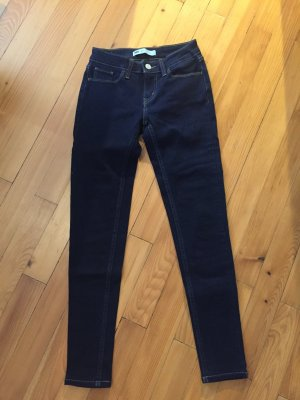 Original Levis 501 Jeans in dunkelblau