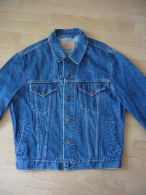 Original Levis Jeansjacke oversized M L XL 38 40 42 Jacke Denim blau Blogger oversized Denimjacket 90s 90er