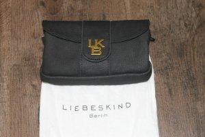 Original Liebeskind kleine Tasche/Clutch schwarz Leder NEU